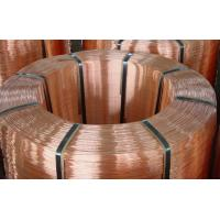 C11000 C1720 Pure Beryllium Copper Rods For Cable , Round Copper Bar Manufactures