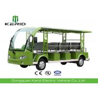 Fashion Design 11 Seats Electric Tourist Car / Electric Sightseeing Bus With 5kw DC Motor Manufactures