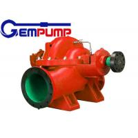 OS series Double Suction Split Case Pump / construction water supply pump Manufactures