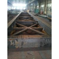 China Q345D Heavy Steel Fabrication , Pile Template Arm / Boom For Marine Industrial on sale