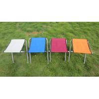 Lightweight Colorful Aluminum Portable Folding Beach Chairs Fising Stool Double Layer Manufactures
