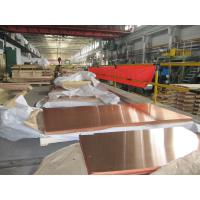Transformer Brass Solid Copper Plate , Copper Metal Plate Industrial Decoration Manufactures