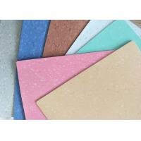Airport Or Hospital Homogeneous Vinyl Flooring UV Coated Surface Treatment Manufactures