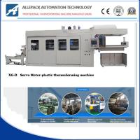 XG-D Automatic Vacuum Forming Machine For Plastic Disposable Trays Box Cover Lids Manufactures