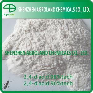 Quality White 2, 4-dichlorophenoxyacetic Acid 98%TC 86%SL 72%SL 720g/L 94-75-7 for sale