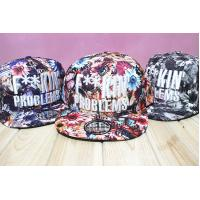 Sublimation Patch 5 Panels Snapback Flat Brim Hats Embroidery Raised Logo Available Manufactures