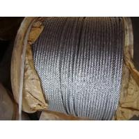Standard Lifting Galvanized Steel Wire Ropes For Cable Car , 6 x 19 s + Fc Manufactures