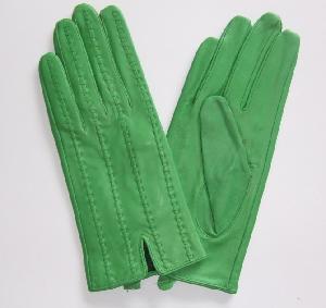 Green Sheep Skin Gloves (CF3114) Manufactures