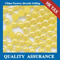 Buy cheap Ceramic pearl,ceramic rhinestone,ceramic stone new arrival ,pearl rhinestones flatback 0825 from wholesalers
