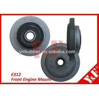 Professional Durable Rear Engine Cushion Rubber Engine Mounts For CAT E312 Front Manufactures
