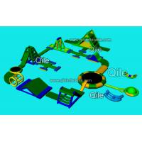 Giant Inflatable Floating Water Park Sea Inflatable Aqua Park Manufactures