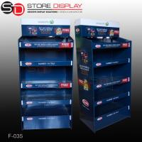 pop food floor display stand/floor display stand shelf Manufactures
