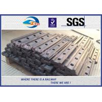 4 Holes BS80A Railway Fish Plate Rail Joint Bars steel fish plates With Plain Colors Manufactures
