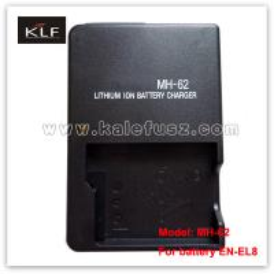 China Digital Camera Battery Charger MH-62 For Nikon Battery EN-EL8 on sale