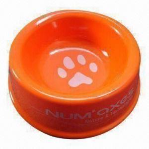 Melamine Pet Bowl, Measures 21.6 x 6.5cm, Shatter-resistant, Tasteless and Nontoxic Manufactures