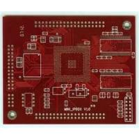 China ISO9001 red Routing double sided diy fr4 pcb printed circuit boards with HASL on sale