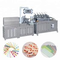 Automatic Multi Cutter Colorful Paper Drinking Straw Tube Pipe Making Machine Manufactures
