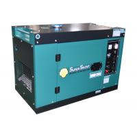Extra Silent 186F 5kw Portable Power Generator Three Phase Or Single Phase Manufactures