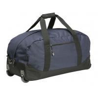 High Density Wheeled Duffle Bag Luggage , Rolling Duffle Bag With Shoulder Strap Manufactures