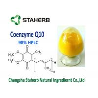 Raw Material Coenzyme Q10 Powder Supplement 99% Purity Anti Aging CAS 303 98 0 Manufactures