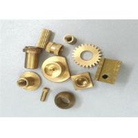 Metal Gear Brass Machined Parts Stamping 0.01 Tolerance ISO Certification Manufactures