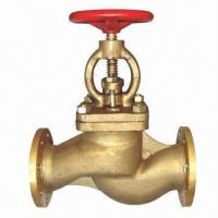 Marine Bronze Flanged Stop Valve as per GB/T587-1993 Manufactures