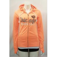 Customized Mens / Womens Cotton Hooded Sweatshirt in Blue , Grey , Orange Manufactures
