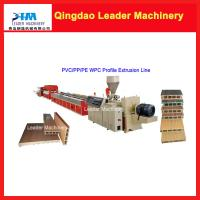 PP PE PVC+wood two layer co-extrusion Wood plastic composites making machine Manufactures