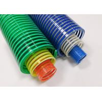 3 Inch Flexible Vacuum PVC Suction Hose Pipe With High Working Pressures Manufactures