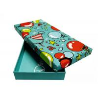 Full Color Clothes Gift Boxes Packaging Decorative Recyclable Eco - Friendly Manufactures