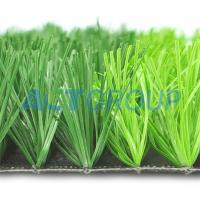 Fireproof Artificial Football Turf Synthetic Lawn Natural Appearance Anti Color Fading