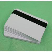 Blank Mag Strip Inkjet PVC ID Cards, Double Sided Printing Manufactures