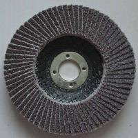 High temperature fused Aluminum Oxide Abrasive Flap Discs Conical For Angle Grinders Fiber Manufactures