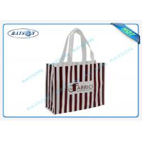 Conference Event Place Promotional Non Woven Bags 100% Virgin Polypropylene Manufactures