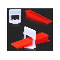 China Durable Tile Leveling System Clips For Wall Floor Tile Spacer , Long Life on sale