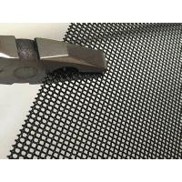 Window screen black powder coating stainless steel woven wire mesh Manufactures