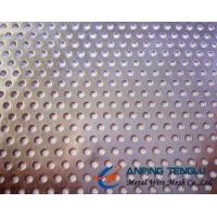 8mm Perforate Metal Mesh, 60° Staggered Pattern, 11-16mm Pitch, 0.8-2.5mm Plate Manufactures