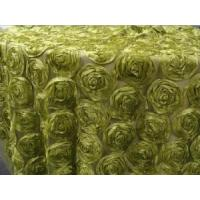 Satin Rose Table Cloth Manufactures