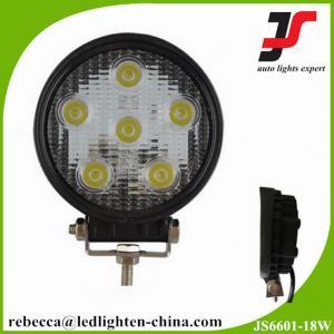 3w*6pcs Epistar LED chip super bright 950 lumen 18w LED work light for trucks Manufactures