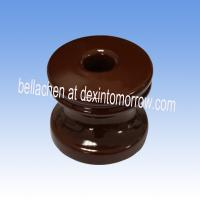 high voltage porcelain Spool Insulator ANIS 53-3/53-4 brown Manufactures