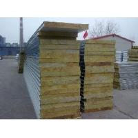 Fireproof Rock Wool Sandwich Panel for Wall (FRW01) Manufactures
