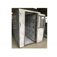 SUS304 Steel Cleanroom Air Shower For Precise Instrument / Industry Manufactures
