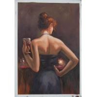 China bar girl oil paintings (JBN02) on sale