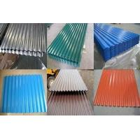 China Roofing material Corrugated steel sheet plate in all kins of colours on sale