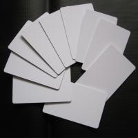 China Directly Printing Inkjet PVC Card White Color Buiness ID Card Printable on sale