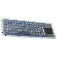 China IP65 industrial metal  voyage backlight keyboard with sealed touchpad mouse combo on sale