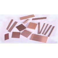 China Polished Tungsten Copper Alloy Copper Tungsten Bricks 5mm - 100mm Thickness on sale