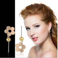 2012 Spring&Summer Fashion Silver Flower Earring Jewelry Arrival Manufactures