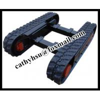 China Construction works  Applicable Industries mini rubber track undercarriage on sale