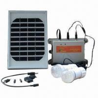 Portable Solar Panel Kit with LED Bulb and Cell Phone Charger, Ideal for Remote Area Manufactures
